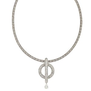 A diamond necklace, by Chanel