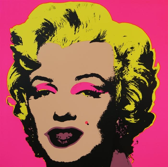 After Andy Warhol, American 1928-1987- ''Marilyn'', published by Sunday B Morning; screenprints on museum board paper