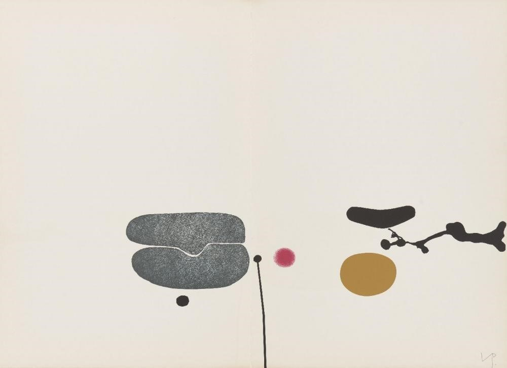 Lot 81 Victor Pasmore CH CBE, British 1908-1998- The Image In Search of Itself [B.& L.65], 1977; the complete portfolio of eleven screenprints in colours on 250gsm Velin Arches wove