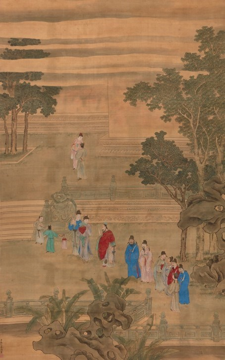 Lot 439: YU ZHIDING (Attributed to, 1647-1716), ink and colour on silk | £200-400 + fees