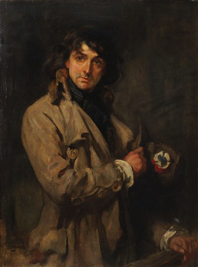Lot 288 James Jebusa Shannon RA RBA RHA, British/American 1862-1923- Sir John Martin Hardy as Sydney Carton in The Only Way; oil on canvas, signed, 111.5x75cm